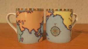 1.世界地図マグカップ
